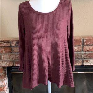 Sonoma women's long sleeve top